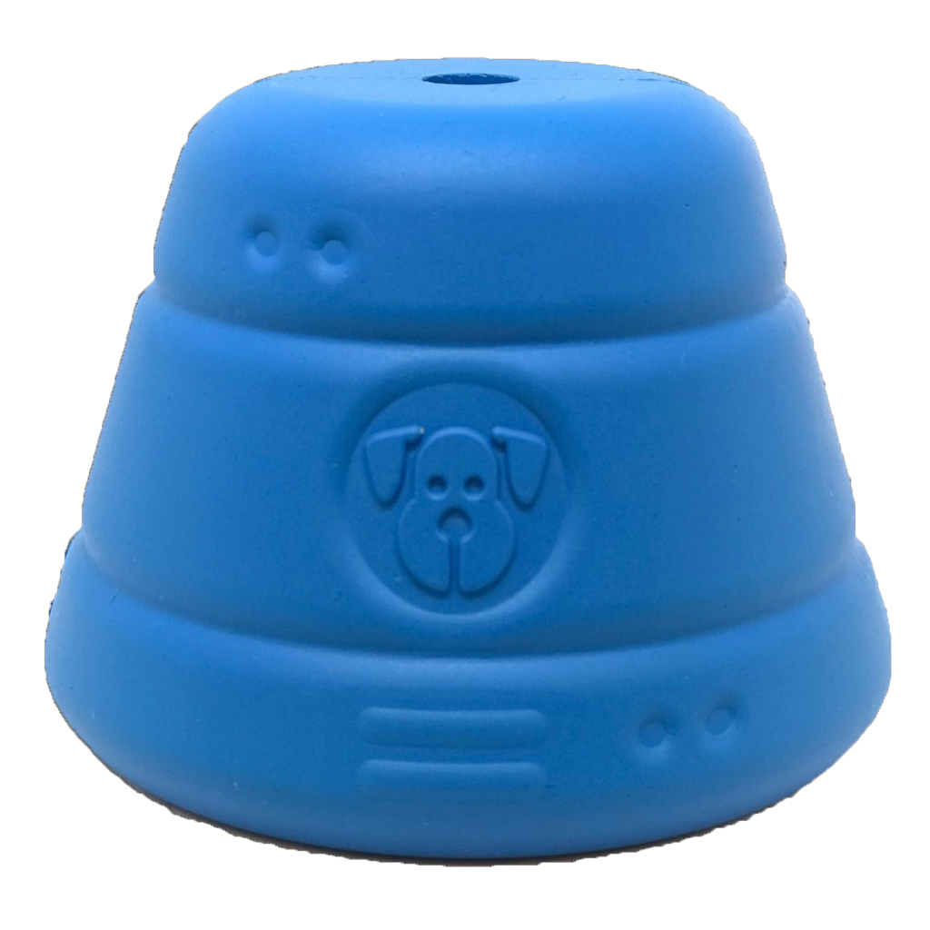 An image of SodaPup - True Dogs, LLC - SN Space Capsule - Large - Blue
