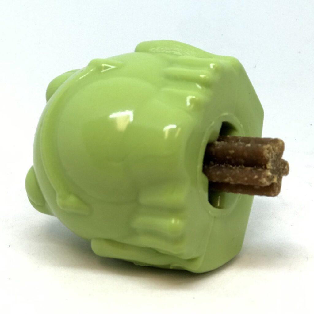 An image of SodaPup – True Dogs, LLC – MKB TPE Bullfrog Medium – Green