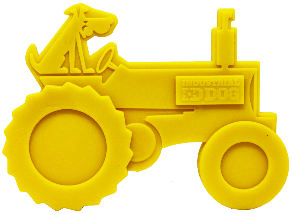 An image of SodaPup - True Dogs, LLC - ID Tractor - Yellow