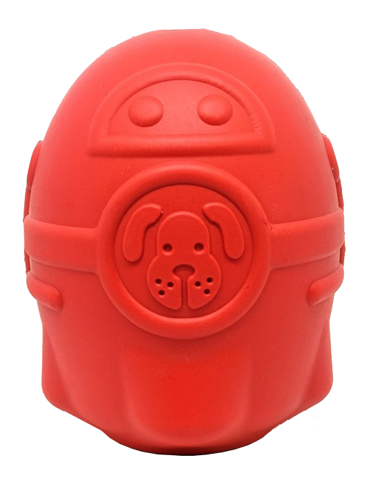 An image of SodaPup - True Dogs, LLC - SN Rocketman - Large - Red
